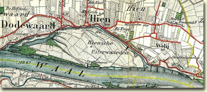 Wely topografische kaart